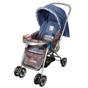 Sunbaby Stroller Pram SB-100A RED-0