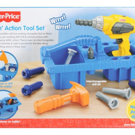 Fisher Price Drillin Action Tool Set-0