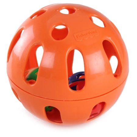 Fisher Price Woobly Fun Ball - Orange-0