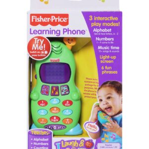 Fisher Price Learning Mobile Phone - Green-0