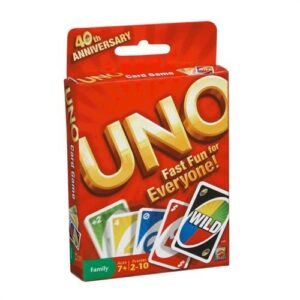 Mattel UNO Original Playing Card Game-0