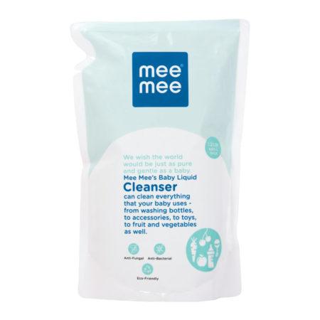 Mee Mee Baby Accessories & Vegetable Liquid Cleanser - 1.2Ltr-0