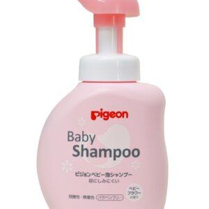 Pigeon Baby Foam Shampoo Floral - 350 ml-0