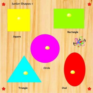 Kinder Creative Junior Shapes with Knobs-0
