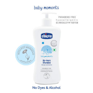 Chicco Baby Moments No Tears Shampoo - 500 ml-0