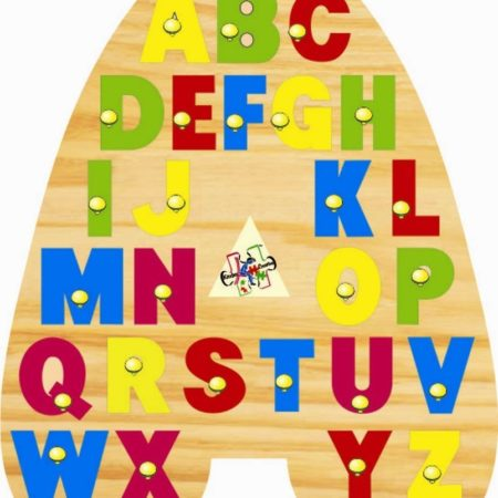 Kinder Creative A Shaped Alphabet Tray-0