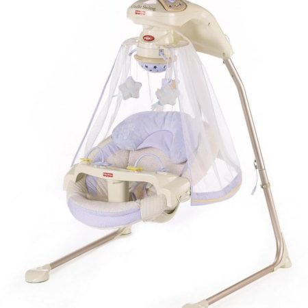 Fisher Price Star Light Papasan Cradle Swing-0