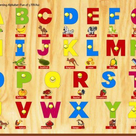 Kinder Creative KCL-18 Learning Alphabet-0