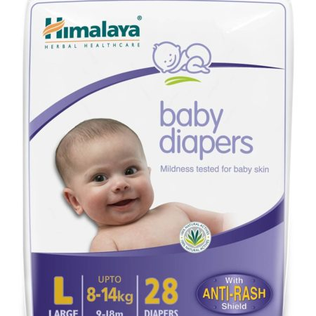 Himalaya Baby diapers large 28-0
