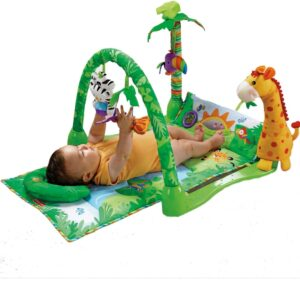 Fisher Price 1-2-3 Rainforest Musical Gym - Multi Color-0