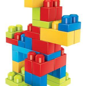 Mega Bloks First Builders Fun Endless Building 80 Pcs - Multi Color-0