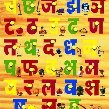Kinder Creative Swar Hindi Picture With Knob-0