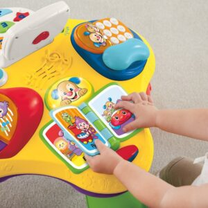 Fisher Price Laugh And Learn Learning Table - MultiColor-0