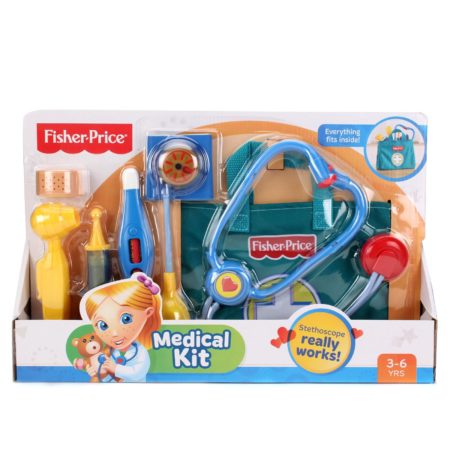 Fisher Price Medical Kit - MultiColor-0