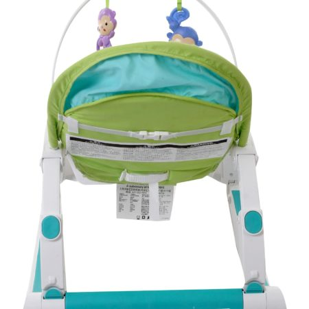 Fisher Price Rain Forest Friends Portable Rocker - Green And Blue-0