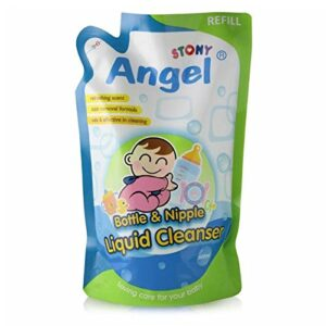 Stony Angel Bottle & Nipple Liquid Cleanser - 500ml (Refill)-0