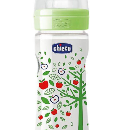 Chicco Wellbeing Bottle 250 Ml Green-0