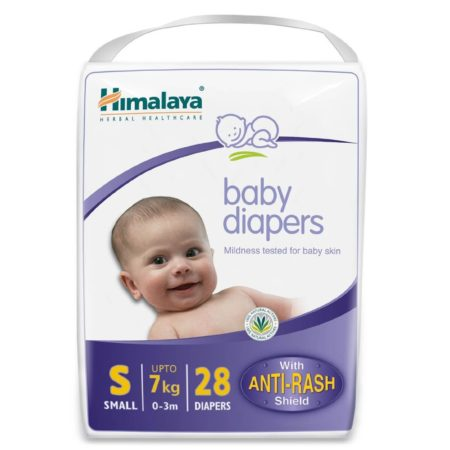 Himalaya Baby Small Size Diapers - 28 Count-0