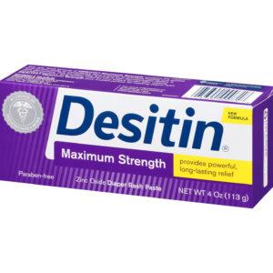 Desitin Maximum Strength Diaper Rash Paste, 113gm-0