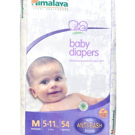 Himalaya Baby Medium Size Diapers - 54 Count-0