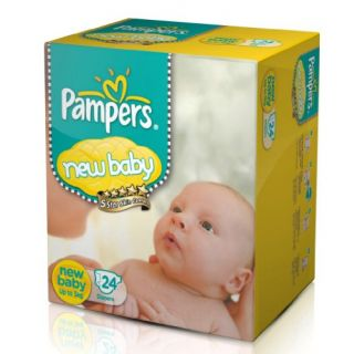 Pampers New Baby Diapers (24 COUNT)-0