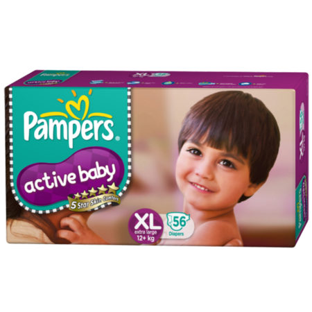 Pampers active baby XL 56-0