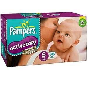 Pampers active baby small 46-0