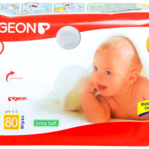 Pigeon Baby Wipes 80 Pieces-0