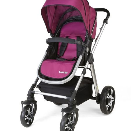 LuvLap Premier Stroller - Purple-0