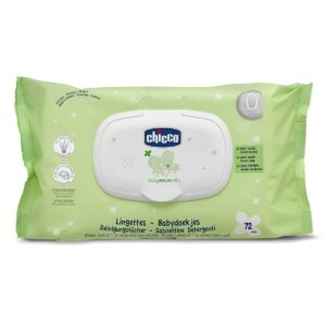 Chicco Baby Moments Soft Cleansing Wipes 72 Wipes-0