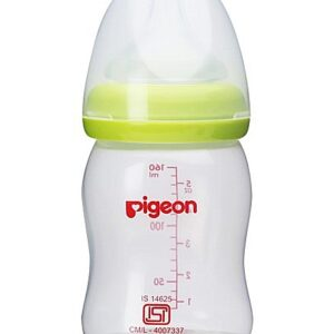 Pigeon Peristaltic Plus Plastic Feeding Bottle Green - 160 ml-0