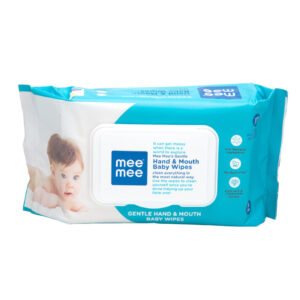 Mee Mee Hand & Mouth Baby Wipes - 72 Pieces-0