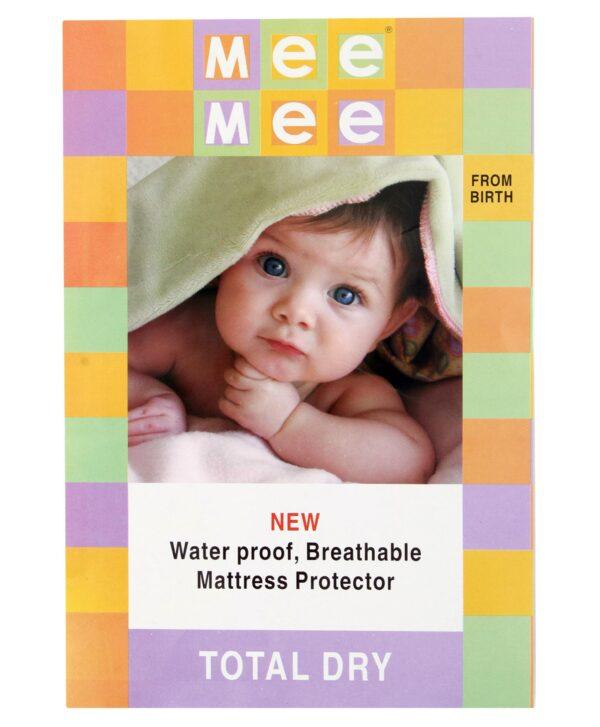 Mee Mee Total Dry Mattress Protector Pink - Medium-0