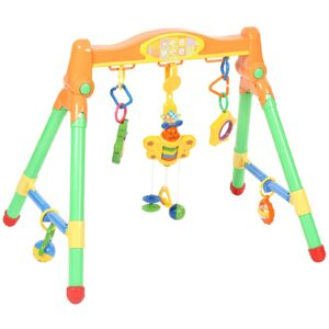 Mee Mee Musical Play Gym With Light - Multi Colour-0