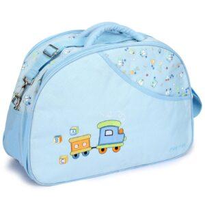 Mee Mee Nursery Diaper Bag - Blue-0