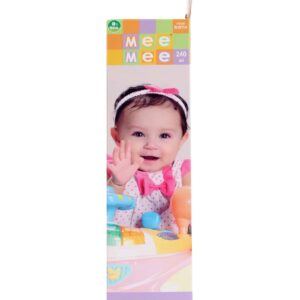 Mee Mee Large Size Glass Feeding Bottle Pink - 240 ml-0