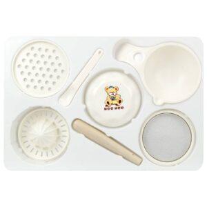 Mee Mee Baby Food Maker Processor - 7 Pieces-0