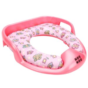 Mee Mee Cushioned Potty Seat With Handles - Pink-0