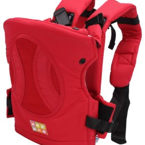 Mee Mee Four Way Baby Carrier - Red-0