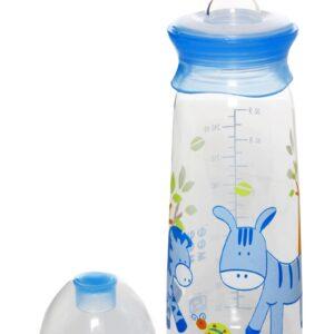 Mee Mee Feeding Bottle Blue - 240 ml-0