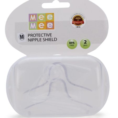 Mee Mee Protective Nipple Shield Small - 2 Pieces-0