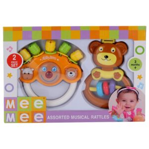 Mee Mee Rattle Toy - Multi Color-0