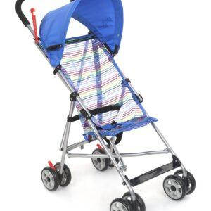 Mee Mee MM8378 Baby Stroller - Blue-0