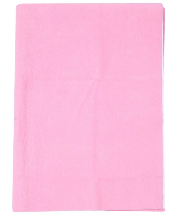 Quick Dry Plain Waterproof Bed Protector Sheet (S) - Pink-3276
