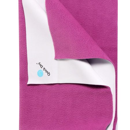 Quick Dry Plain Waterproof Bed Protector Sheet (S) - Orchid-0