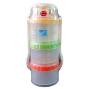 Papa Baby Milk Powder Container with Spoons (Imported)-0