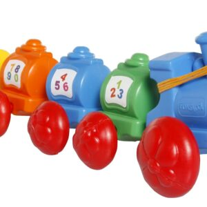 Funskool Giggles Wibbly Wobbly Train - Multi Color-0