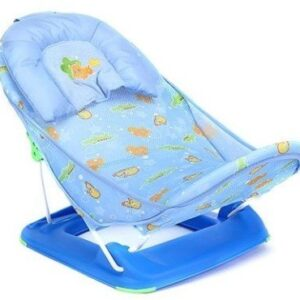 Mastela Bather Baby Bath Seat With Pillow - Blue-0