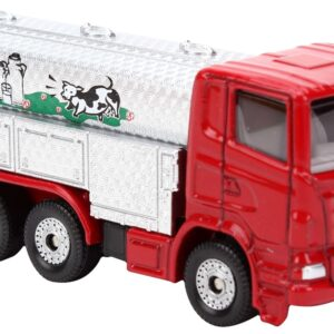 Siku Funskool Milk Collecting Truck - Silver And Red-0