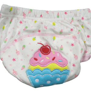 Moms Care Washable Diaper Panty Pink Small - Print May Vary-0